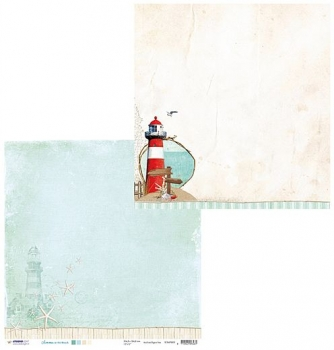 Designpapier zweiseitig, Summer at the Beach 02