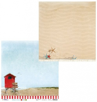 Designpapier zweiseitig, Summer at the Beach 04