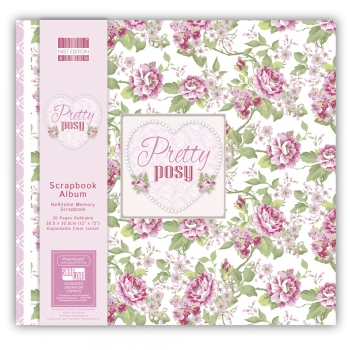 Scrapbook Album - Pretty Posy 30,5x30,5