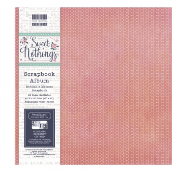 Scrapbook Album Sweet Nothings, 20,3cm x 20,3 cm