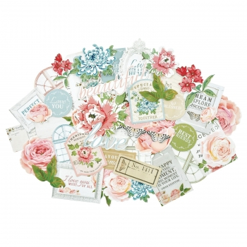 Kaisercraft Collectables Die Cuts Rose Avenue, 45 pcs