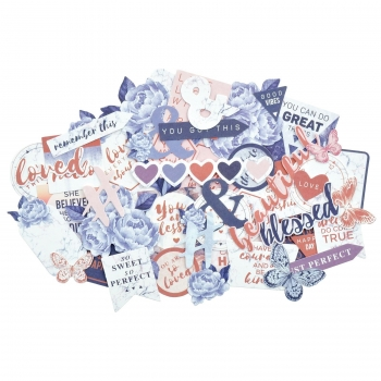 Kaisercraft Collectables Die Cuts Misty Mountains, 50 pcs