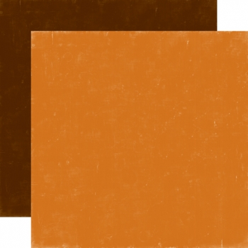 Designpapier Echo Park - Happy Camper - Orange / Brown, 30,5 x 30,5 cm
