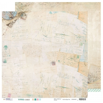 Designpapier - Studio Light scrap Memories of summer nr.03 - double-sided - 30,5x30,5cm