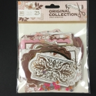 Cardstock Die Cuts - 25 pcs - Design 03