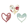 Sizzix Stanzschablonen - Thinlits Set - Alluring Hearts