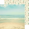 Designpapier zweiseitig, Kaisercraft double-sided 30,5x30,5cm Summer Splash Sunkissed