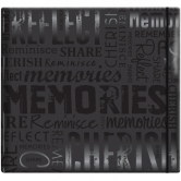Scrapbooking Album gloss Memorie Black 30,5x30,5