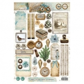 Designpapier gestanzt, Winter Memories 60