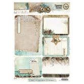 Designpapier gestanzt, Winter Memories 63