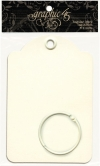 Regular Tag Album Ivory with Binder Ring 10x15cm