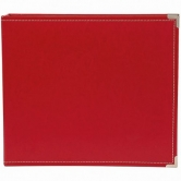 SN@P! Faux Leather Album, 12 x 12 Inch, red