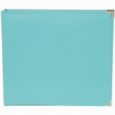 SN@P! Faux Leather Album, 12 x 12 Inch, teal