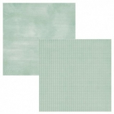 Designpapier zweiseitig, So Fancy, Simple Basics, Mint Watercolor / Triangles, 30,5 x 30,5 cm