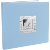 Scrapbook Album Words of Expressions Baby Boy blue 30,5x30,5
