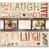 Scrapbooking Album live Laugh love film strip 30,5x30,5