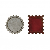 Sizzix Stanzschablonen - Movers & Shapers Schablone Tim Holtz - Bottle Cap & Stamp