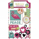 Layered Chipboard BoBunny - Forever Young