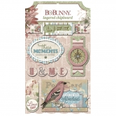 Layered Chipboard BoBunny - Garden Journal