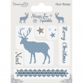 Dovecraft Clear Stamp Magic&Sparkle Reindeer