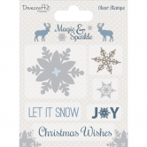 Dovecraft Clear Stamp Magic&Sparkle Snowflakes