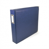 "We R Memory Keepers - faux leather album 12x12"" cobalt"