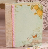 Kreatives Ringbuch Album Kit - Flower