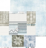 Designpapier zweiseitig, Brr… It's Cold Outside - 06, 30,5 x 30,5 cm