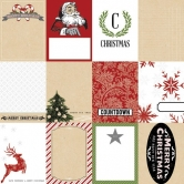 Design Papier Doppelseitig Candy Cane Lane Tags