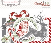 Candy Cane Lane: Ephemera Pack 36 Stück