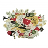 Kaisercraft Collectables Die Cuts Bon Appetit, 50 pcs