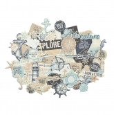 Kaisercraft Collectables Die Cuts High Tide, 50 pcs