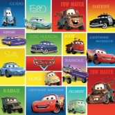 Disney Collection - 12 x 12 Single Sided Paper - Cars - Lightning McQueen