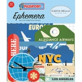 Carta Bella - Passport - Die Cuts - Ephemera