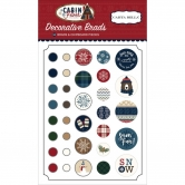 Carta Bella - Cabin Fever - Decorative Brads & Chipboard Pieces