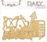 Daily Stories: Die Cut Wood