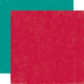 Designpapier Echo Park - Happy Camper - Red / Teal, 30,5 x 30,5 cm