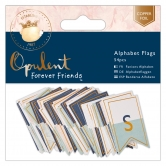 Alphabet Wimpel / Flags - Forever Friends - Opulent - 54 Stück