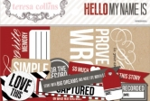 Hello My Name Is: Ephemera Die Cut Pack 41 Stück