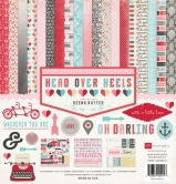 "Paper Set - Head Over Heels Paper & Accessory Kit 12"" x 12"""