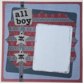 Scrapbook-Kit 'All Boy'