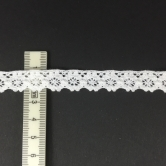 Dekoband - crochet lace - white