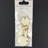 Wooden Tags Krafty Christmas
