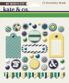 Kate & Co Oxford Lane Decorative Brads