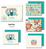 My Minds Eye - Happy Camper - Card Set