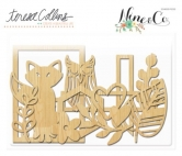 Nine & Co. Wood Die Cuts