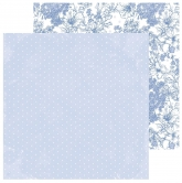 "Designpapier Kaisercraft Lilac Whisper double-sided 12x12"" opal"