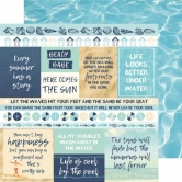 Designpapier zweiseitig, Kaisercraft double-sided 30,5x30,5cm Summer Splash Sun Seeker