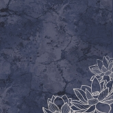 Designpapier - Kaisercraft - 30,5x30,5cm Breathe Navy Night