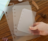 Planner A5 - 6 Holes Matt Frosted Spacer Divider Separator